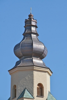 Kirchturm in Windberg